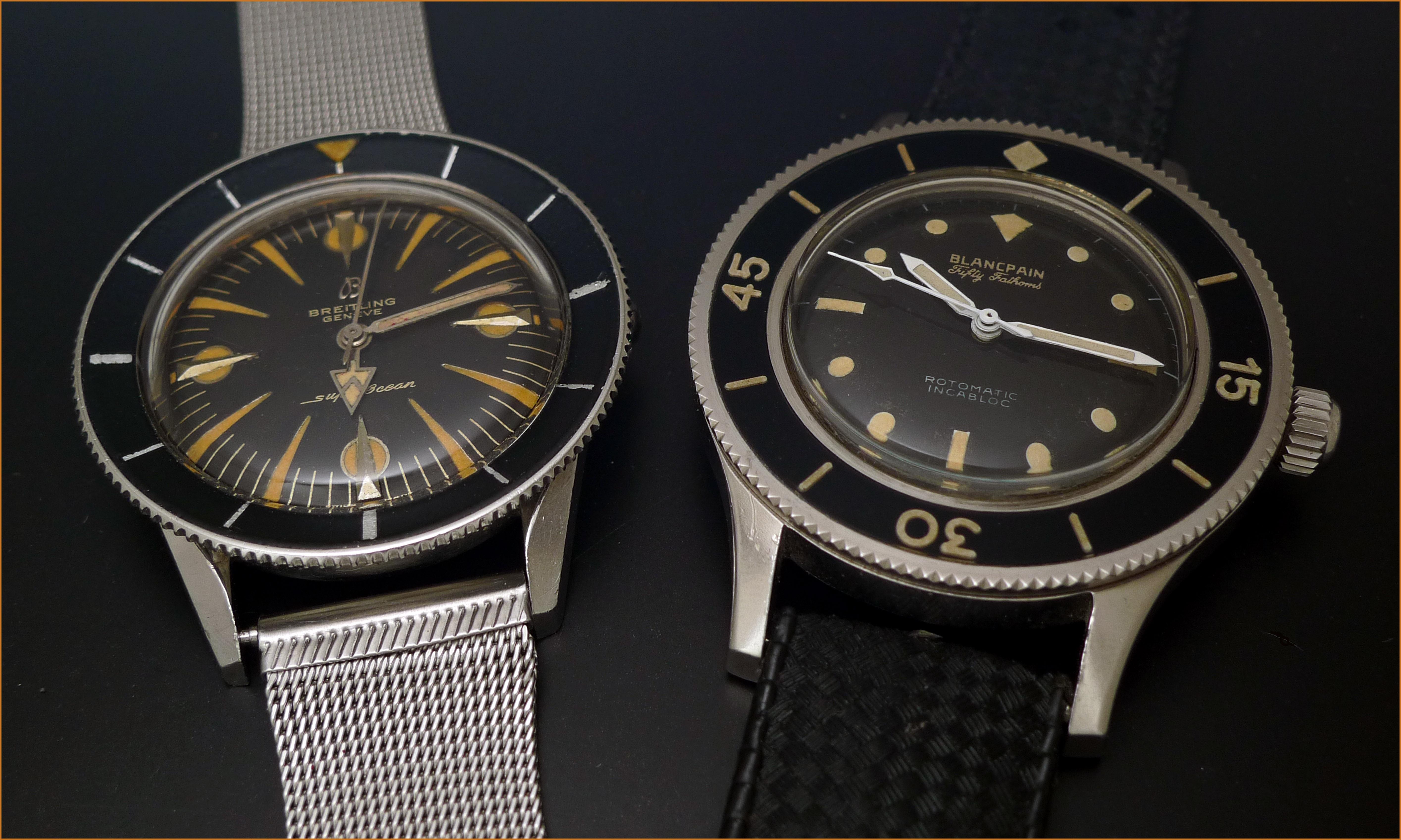 Vintage Divers des années 50. >>> Photo1445