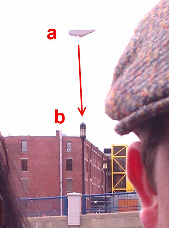 2011: Le 23/03 - Boston (MA), un OVNI photographié? - Page 2 Lampadaire1