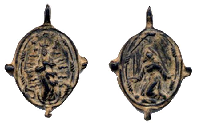 asis - Inmaculada Concepción - S. Francisco de Asís, S.XVI-XVII (R.M.S.XVI-XVII Pe1) 3buz