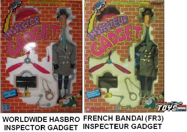 INSPECTOR GADGET / Inspecteur Gadget (Bandai, Galoob..) 1985 Mgts