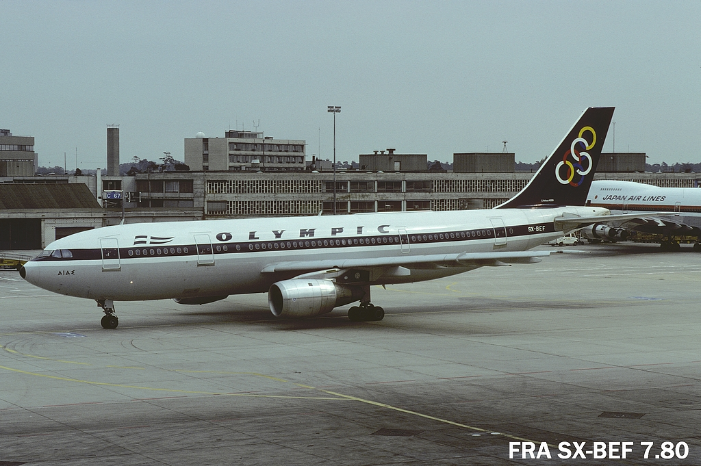 A300 in FRA Frasxbef