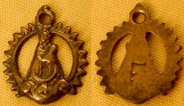 Medalla calada - Virgen de la Fuensanta Fuensanta