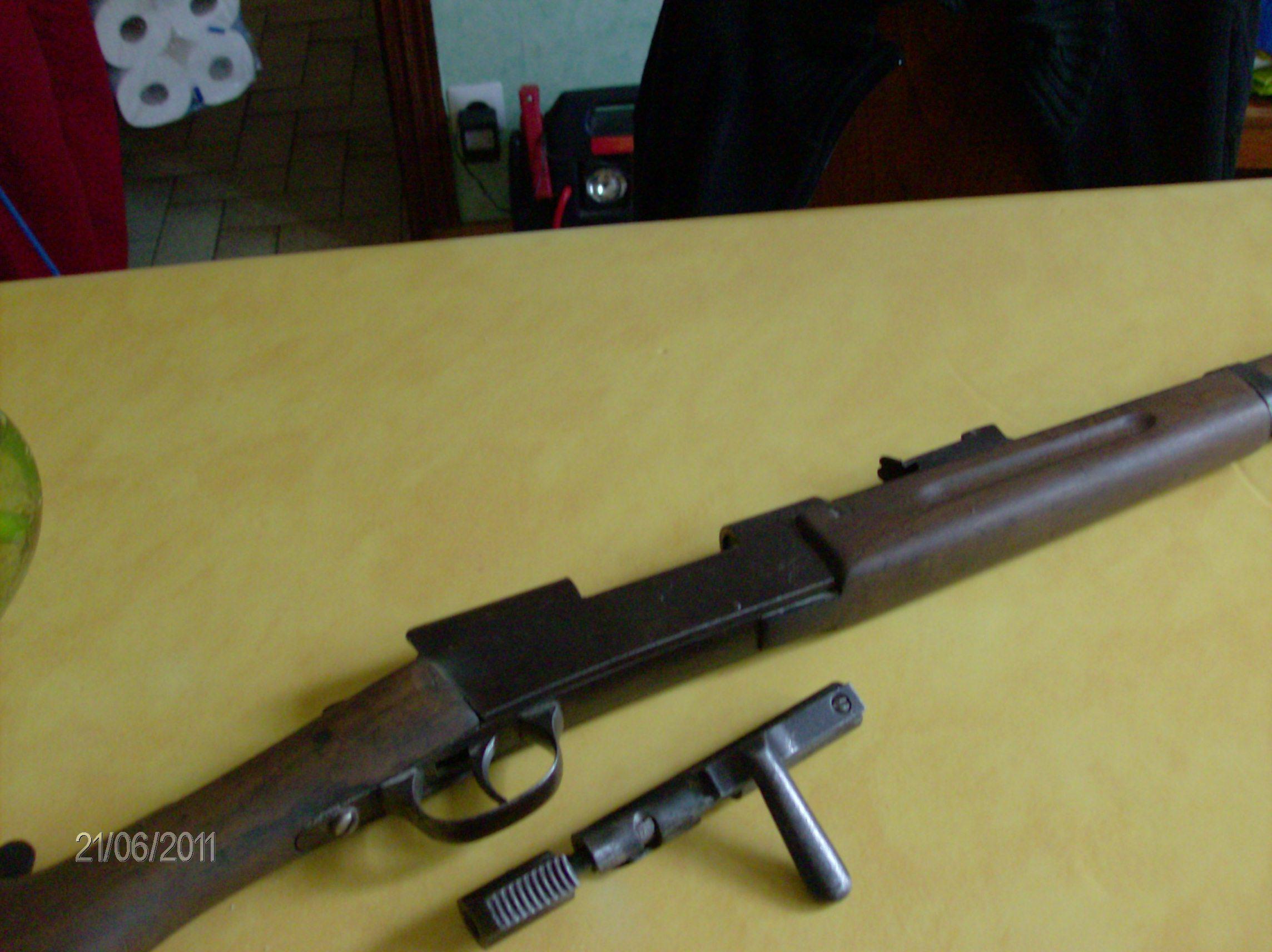 Carabine école, 6mm, à identifier 025lo