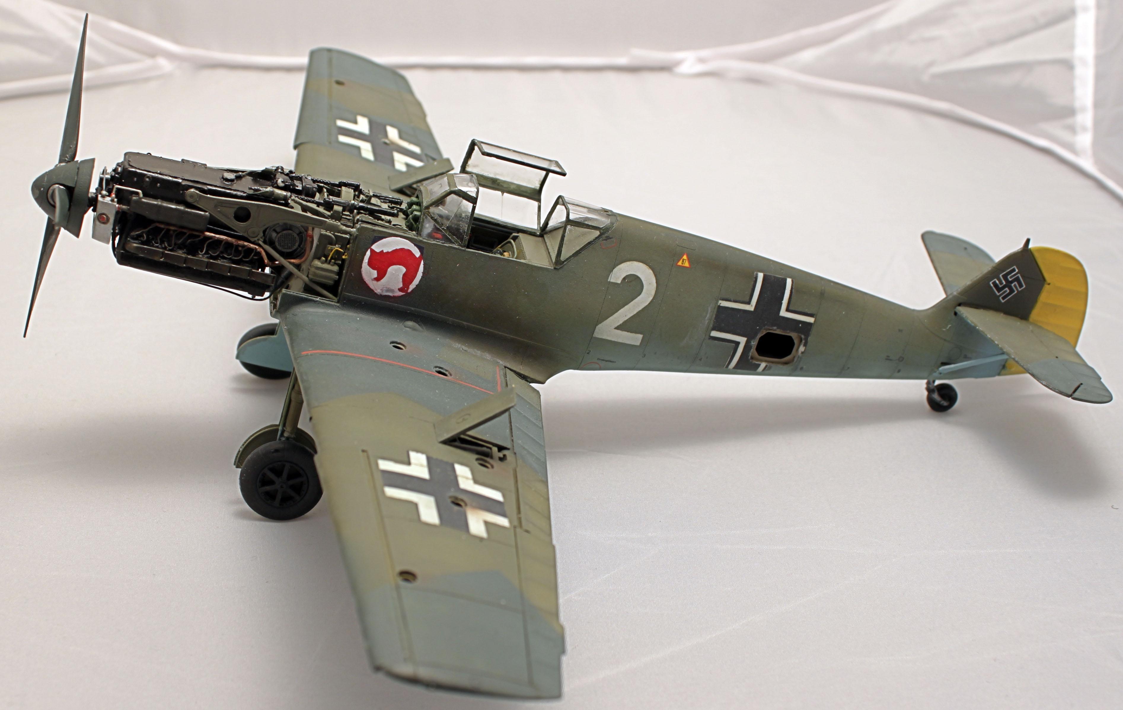 Me Bf 109 E1  [ Eduard 1/32 ] - Page 5 ABngHf