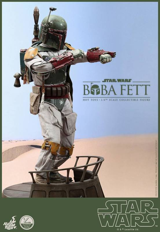 Hot Toys Star Wars - Boba Fett 1/4th Scale figure NT5rmR