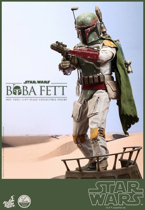 Hot Toys Star Wars - Boba Fett 1/4th Scale figure EoDYEM