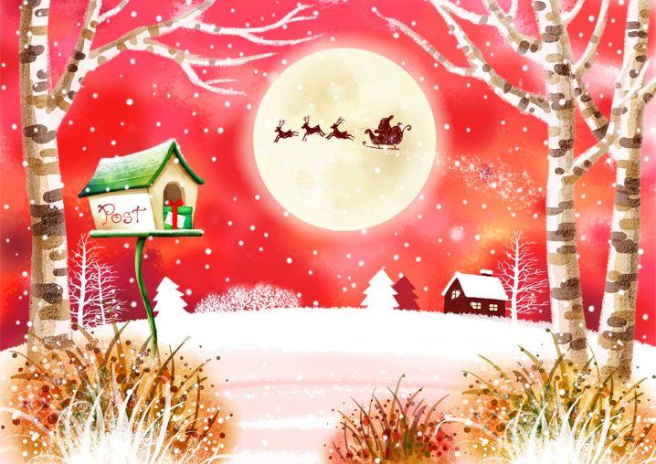 Paisaje de Navidad Z8KU8g