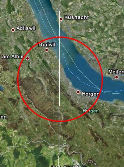 Un OVNI de la taille d'un pays a-t-il survolé la Suisse le mois dernier ? Mesures2