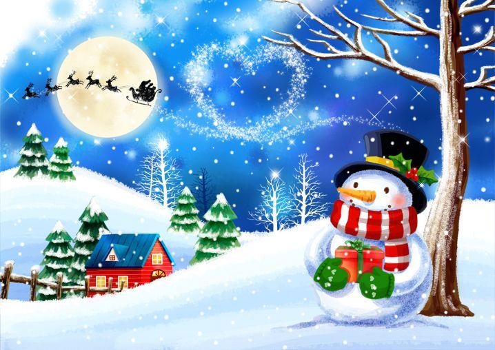 Paisaje de Navidad PMXZiH