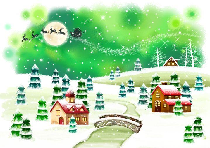 Paisaje de Navidad Cjb6sE
