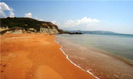 PLAYA DE XI BEACH : LA PLAYA NARANJA DE GRECIA NXJwRB