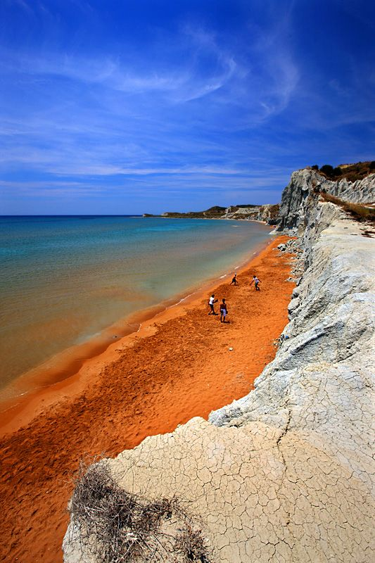 PLAYA DE XI BEACH : LA PLAYA NARANJA DE GRECIA OgpDCC