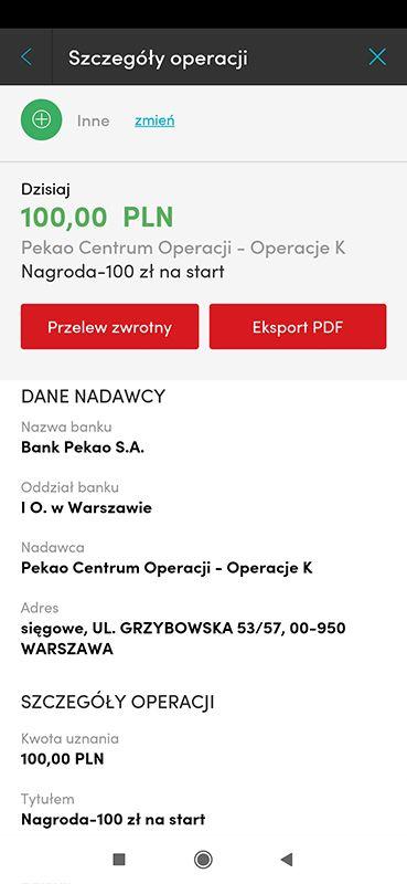 Pekao S.A. - 200 zł na start + 100 zł za polecenie IHELAO