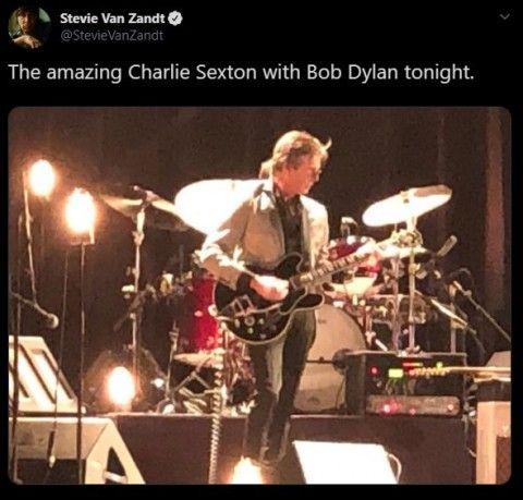 """Cambio de batería en Dylan's Band....tiene mucha """"TELA"""" - ROBERT HUNTER """"in Memóriam"""" TLDzVK"""