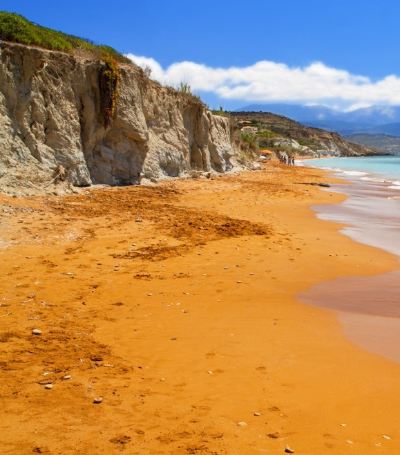 PLAYA DE XI BEACH : LA PLAYA NARANJA DE GRECIA XNVjWi