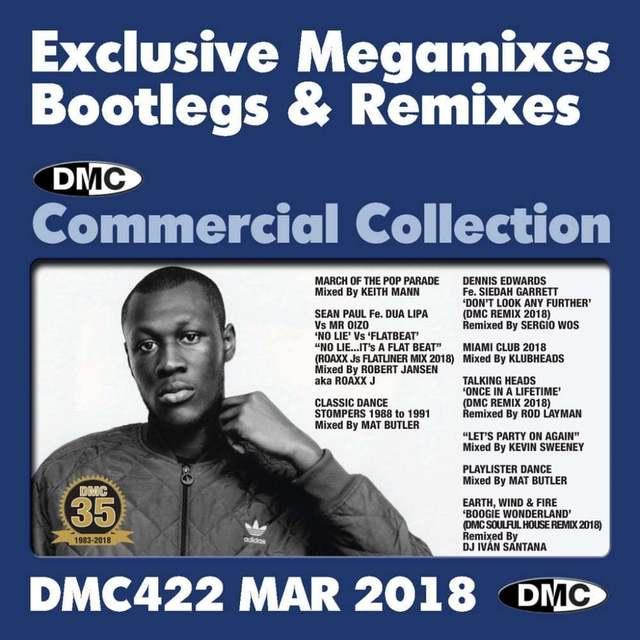 DMC Commercial Collection Vol 422 Bootleg Remixes & Megamixes DJ Triple Music CD F5iKHz