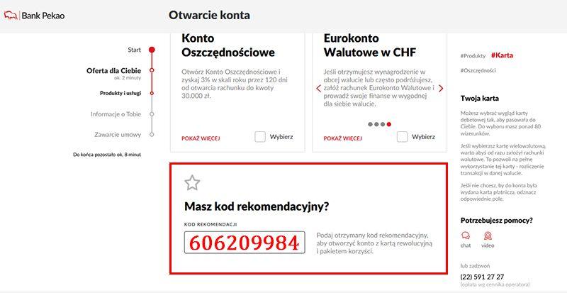 Pekao S.A. - 200 zł na start + 100 zł za polecenie WMUdiH