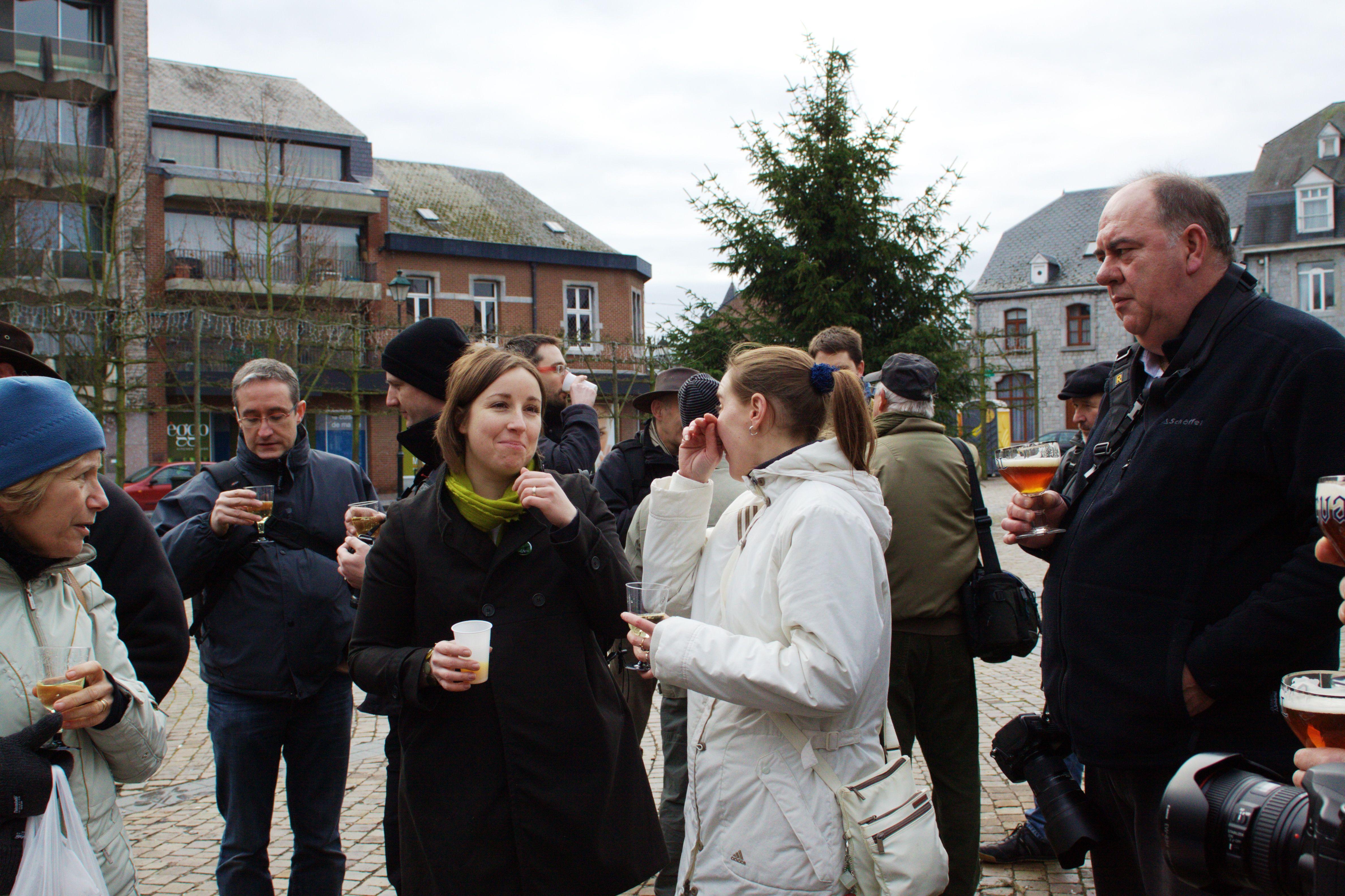 Sortie 3ème anniversaire le 16 janvier 2011 à Marche en Famenne : Les photos d'ambiances 123waj