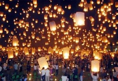 lanterne - Lanterne célèste ou lanterne thaïlandaise Lanternesthai11268030c4