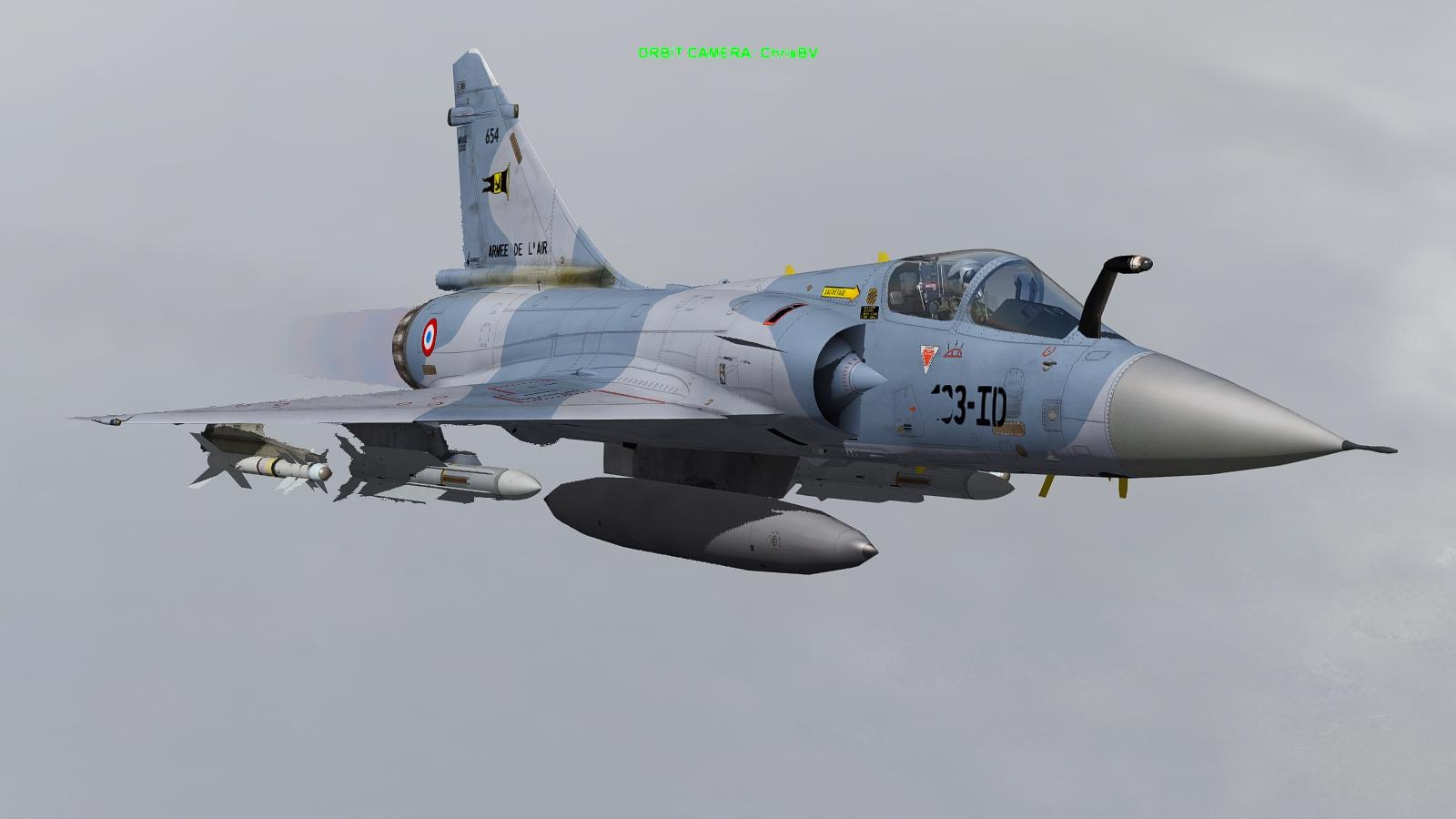 Mirage 2000D - Falcon BMS 4.32 Prev1n