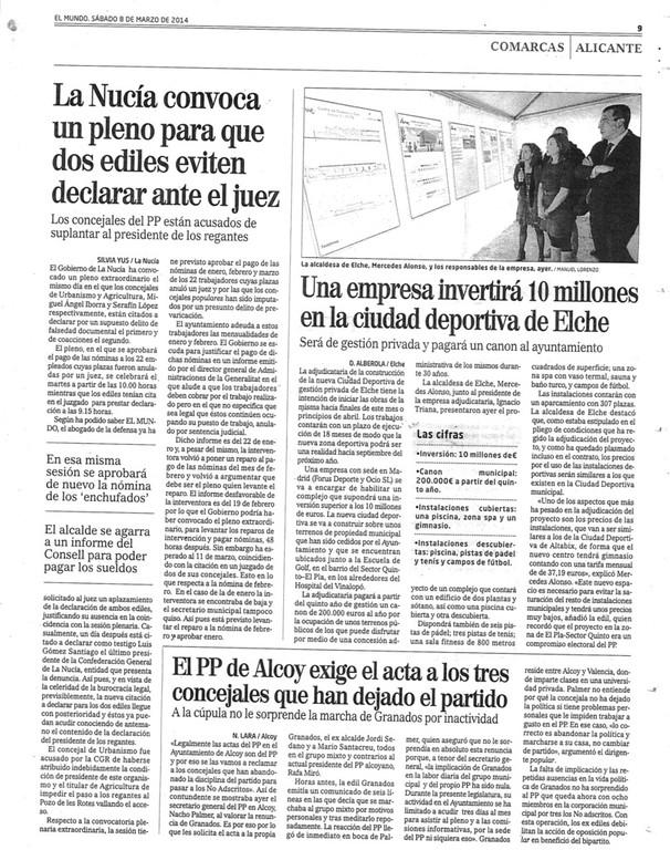 COMO SALIO EN EL MUNDO 8 MARZO 2014 8owg