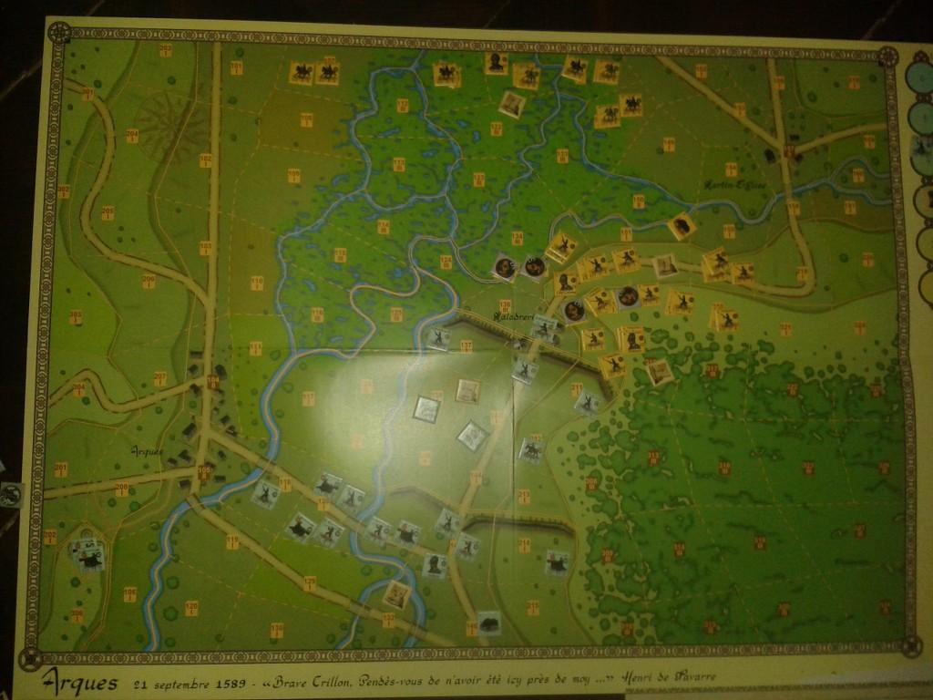[CR] P3F : la Bataille d'Arques, 21 septembre 1589 WJJ1GZ