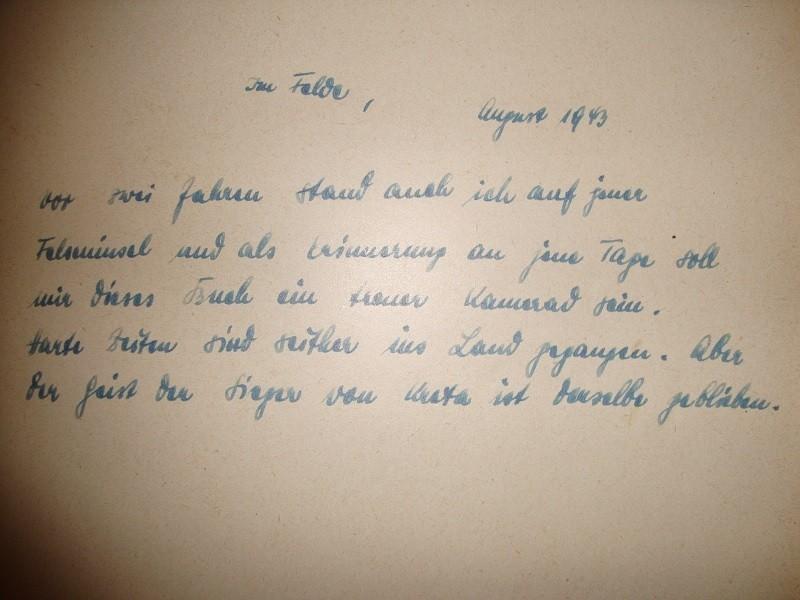 traduction Texte dans livre para allemand WW2 9XIe29