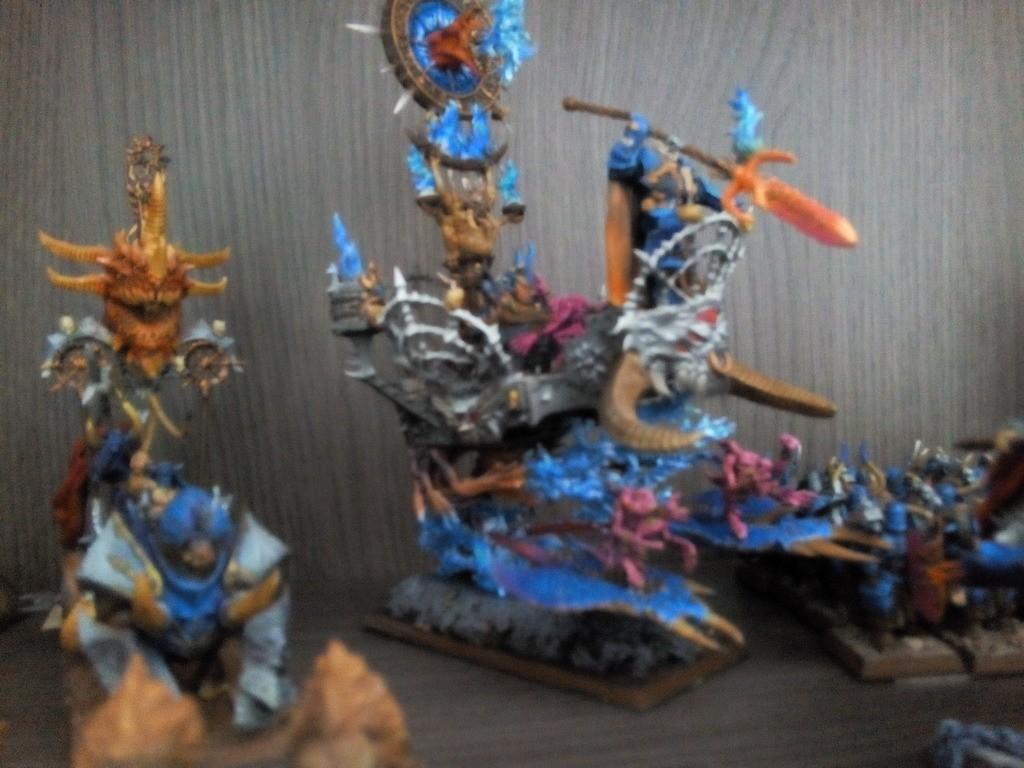 [vente] armée de tzeentch bien peinte + convertion 019PhP