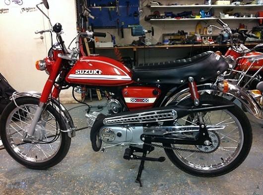 1974 Suzuki AC50 BcWNUB