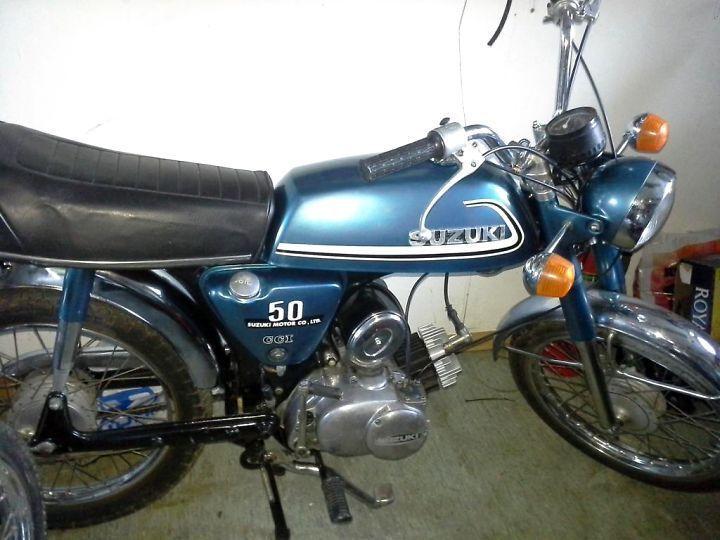 1974 Suzuki AC50 L8C3Pj