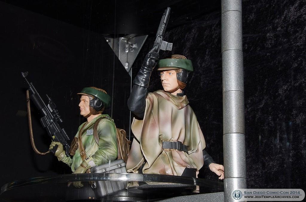 STAR WARS: LUKE ENDOR PGM 2014 MINI BUST D4556f