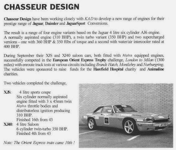 XJ40 ET XJS by Chasseur O3xd