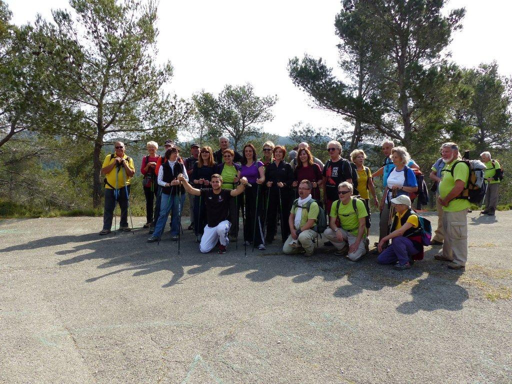 Randonnées inter-clubs-St Rémy-Samedi 29 mars 2014 Qve2