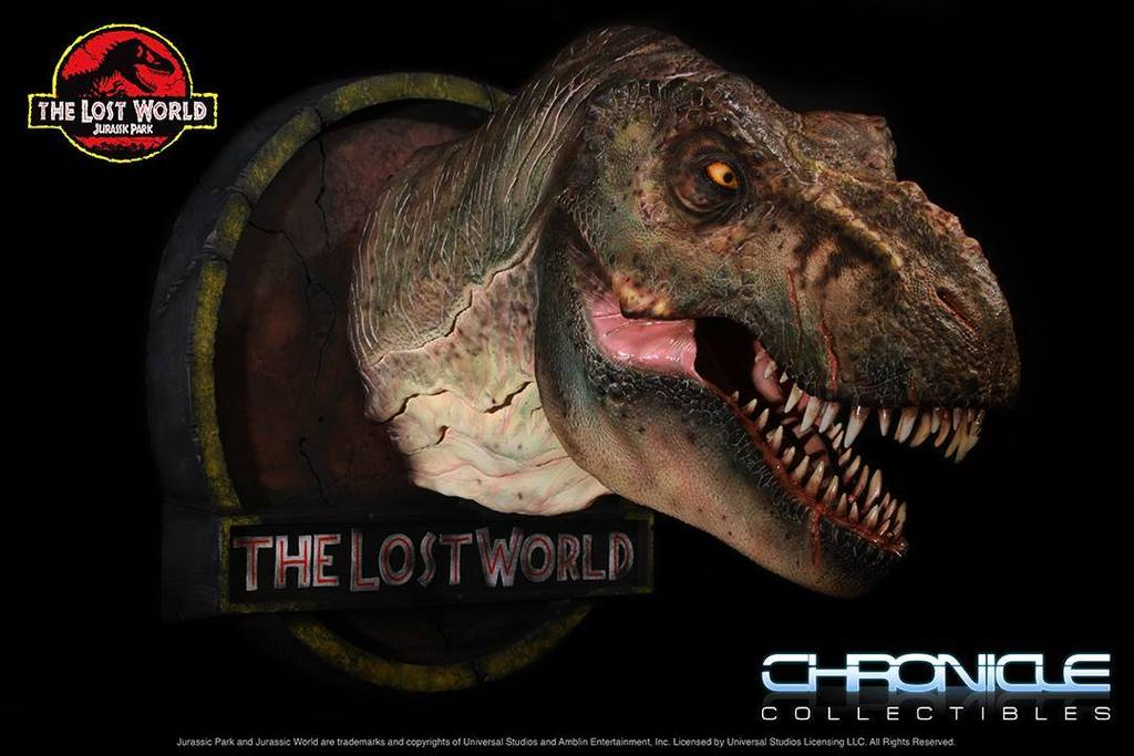 Figurine T-Rex Jurassic Park par Chronicle Collectibles  AO9b45