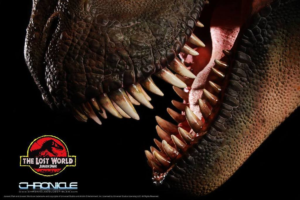 Figurine T-Rex Jurassic Park par Chronicle Collectibles  KfhRxQ