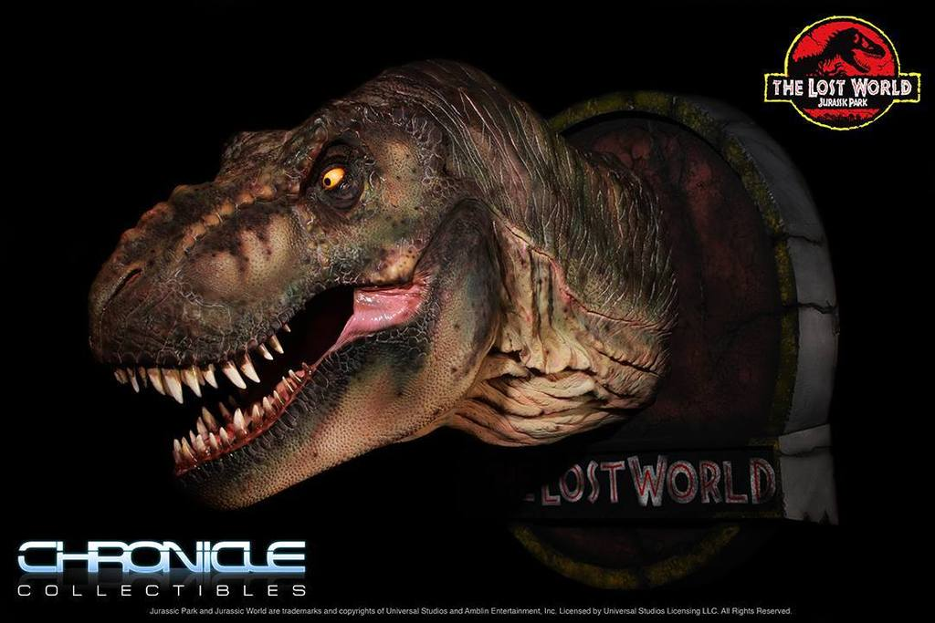 Figurine T-Rex Jurassic Park par Chronicle Collectibles  Uv2wZw