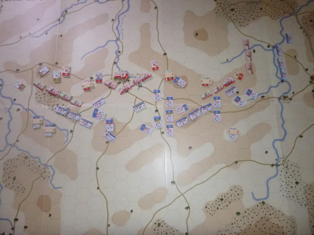 [CR] QBeE : La Bataille de Los Arapiles PjTGTH