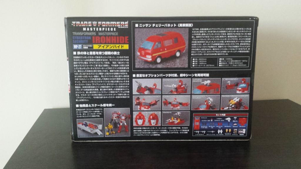 MP27 Cybertron Security Ironhide Cl9Ck6