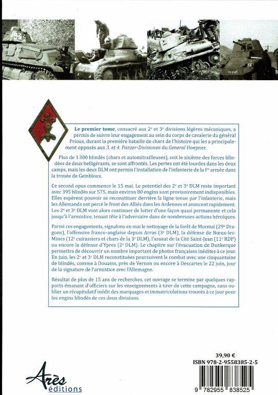Les 2e et 3e divisions légères mécaniques – Tome I & II GDjhfL
