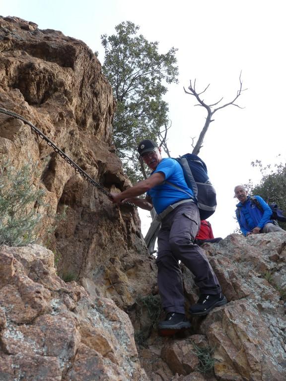 Traversée du Rocher de Roquebrune-Jeudi 29 mars 2018 2G7sG6