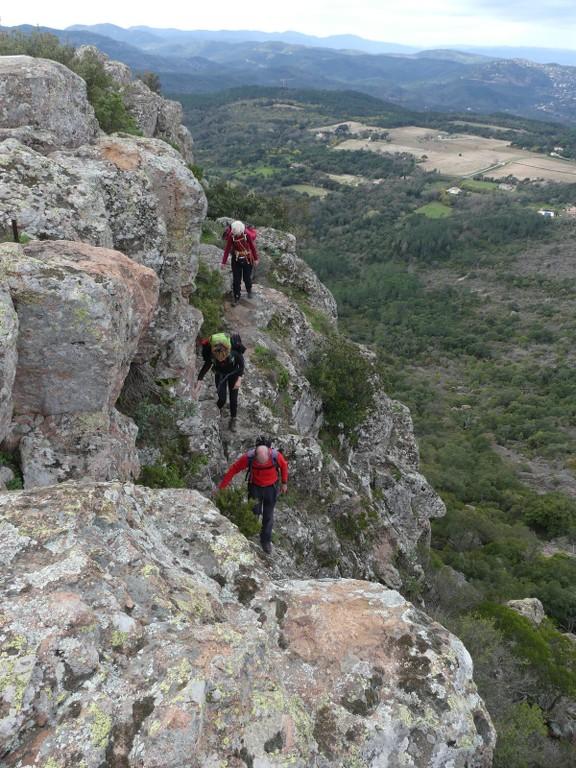 Traversée du Rocher de Roquebrune-Jeudi 29 mars 2018 67a7i5