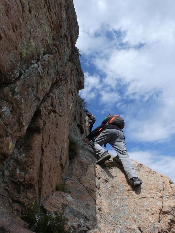 Traversée du Rocher de Roquebrune-Jeudi 29 mars 2018 EKOr3M