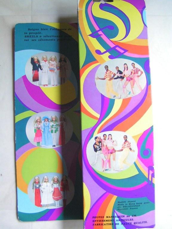 La poupée SHEILA Delavennat 1979 Gx62nP
