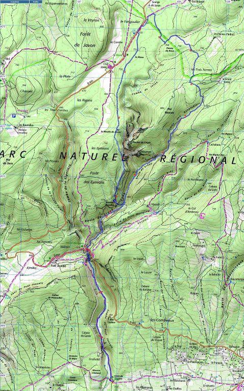 St Saturnin-lès-Apt-Baume Roustan-Jeudi 10 mai 2018 HMF2FK