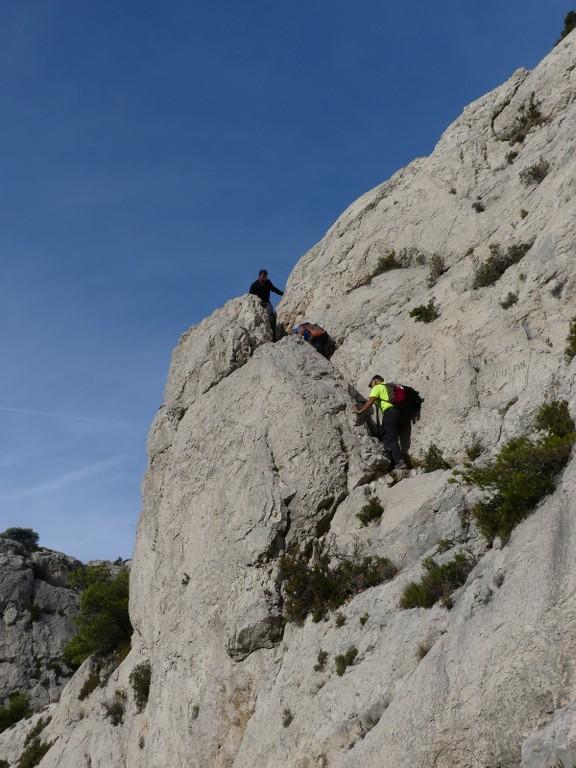 Calanques-Marseilleveyre-Plateau de l'Homme Mort-Jeudi 2 novembre 2017 QBVMAf