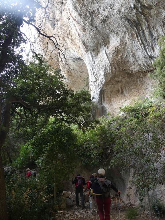 Lubéron-Vallon de l'Arc-Arche du Portalas-Jeudi 9 novembre 2017 RCUFjd