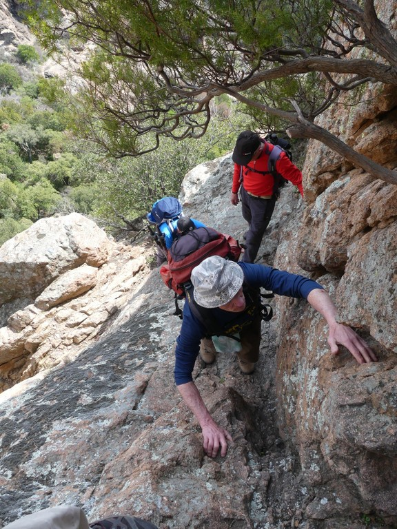 Traversée du Rocher de Roquebrune-Jeudi 29 mars 2018 RJASc0