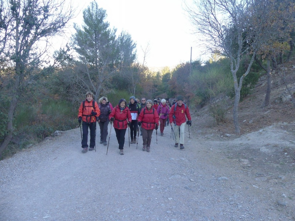 Garlaban-Pichauris-Plateau de l'Aroumi-Jeudi 30 novembe 2017 RsktKC