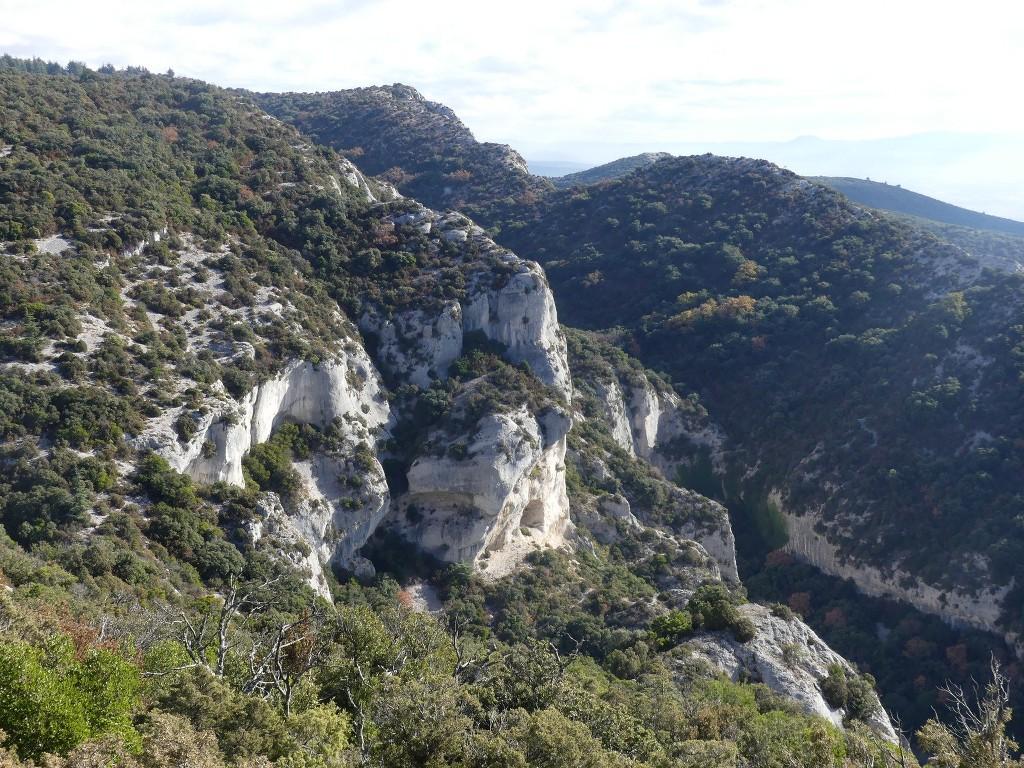 Lubéron-Vallon de l'Arc-Arche du Portalas-Jeudi 9 novembre 2017 SQa20J