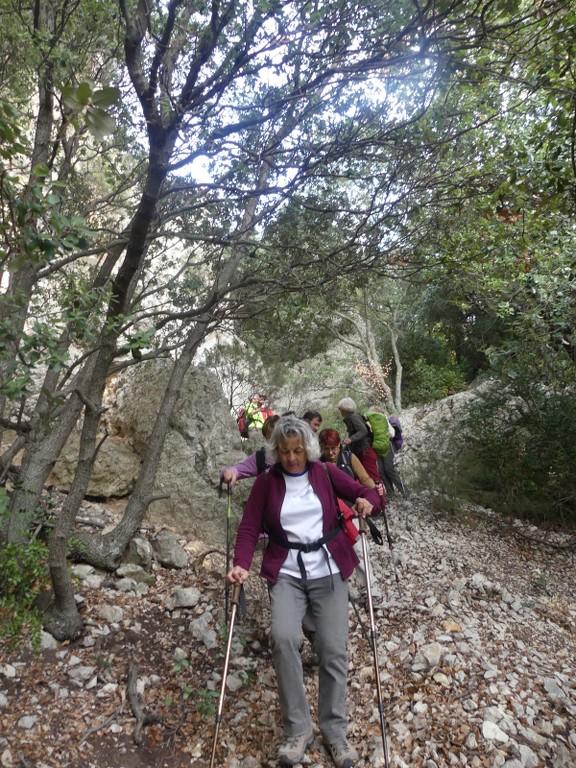 Lubéron-Vallon de l'Arc-Arche du Portalas-Jeudi 9 novembre 2017 T16w51